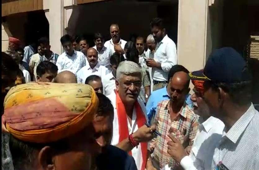 केंद्रीय जल शक्ति मंत्री गजेंद्रसिंह शेखावत जोधपुर पहुंचे,कई कार्यक्रमों में शरीक हुए