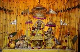 जयपुर में कई जगहों पर आज जयपुर के कृष्ण मंदिरों में जन्माष्टमी की धूम मची हुई है देखे तस्वीरें।
