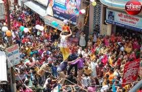 हाथी-घोड़ा पालकी, जय कन्हैया लाल की...पाली में कृष्ण जन्मोत्सव की धूम, देखें पूरी तस्वीरें