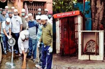 महाराष्ट्र में हिंदू मंदिरों को साफ करने के लिए जुटे 900 मुस्लिम, दिया भाईचारे का संदेश