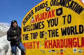 शून्य डिग्री तापमान, लद्दाख में 18 हजार फीट की ऊंचाई, कठिन रास्ते भी नहीं रोक सके मेघा की राह