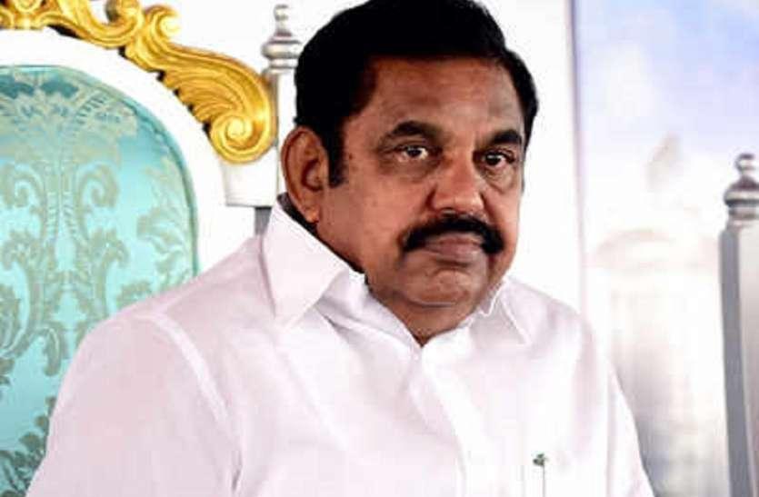 TN : किसी भी जिले में Corona पॉजिटिव दर 10 से अधिक नहीं : Palaniswamy