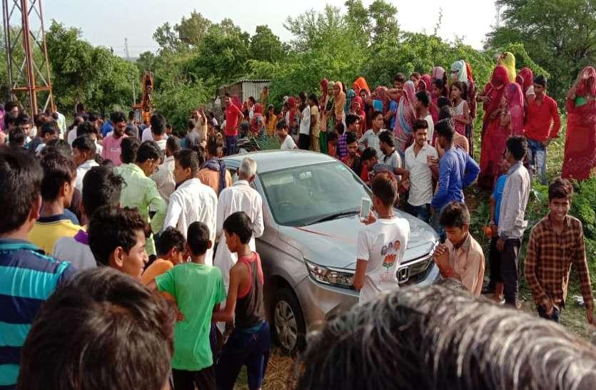 बदमाशों ने फायरिंग कर पुलिस को दौड़ाया, नाकाबंदी के दौरान नदी में छोड़ी कार और पैदल ही भागे
