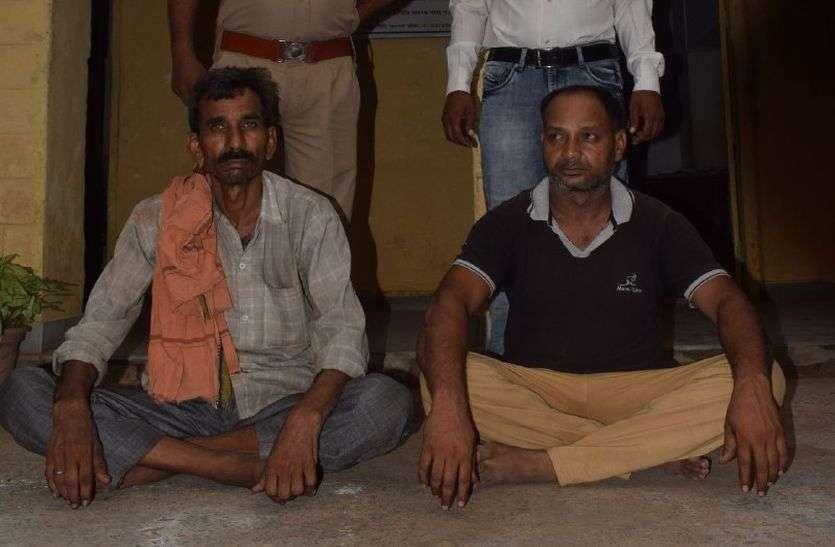 अलवर ला रहे थे 27 लाख रुपए कीमत का गांजा, गांजे की गंध के कारण धौलपुर पुलिस ने रोका, अलवर का आरोपी गिरफ्तार
