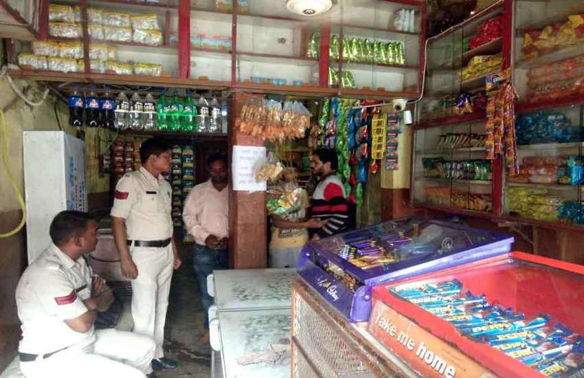 बंडा पहुंची खाद्य विभाग की टीम ने सिर्फ 5 दुकानों के लिए सैंपल