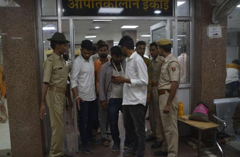 student election: हिंसक हुए छात्रसंघ चुनाव, डंडे सरिए से फोड़ा हाथ