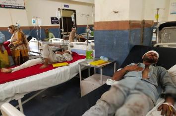 राजौरी में हुआ बड़ा हादसा, खाई में गिरा तीर्थयात्रियों से भरा वाहन, 7 मरे, कई गंभीर
