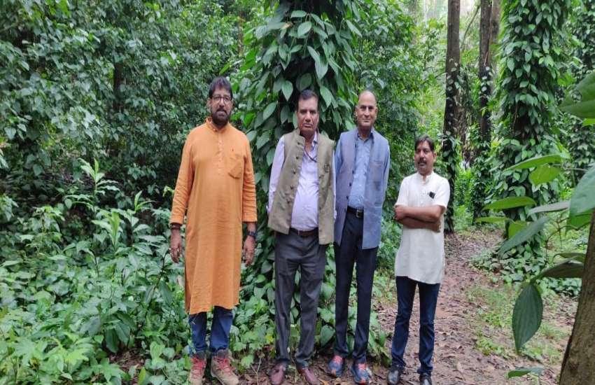 कोंडागांव के किसान की कमाई जान प्रधान आयकर महानिदेशक रह गए हैरान, पहुंच गए देखने खेत