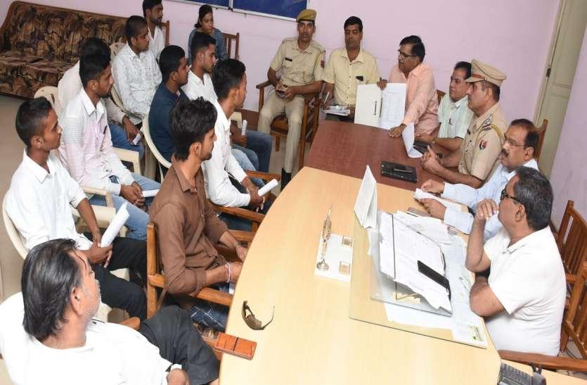 छाात्रसंघ चुनाव  : बीकानेर में 'छोटों' के साथ बड़े नेता भी प्रचार मैदान में