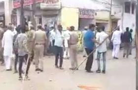 गंगापुरसिटी में पत्थरबाजी के बाद बिगड़ा माहौल, Internet Ban के बाद धारा 144 लागू, पुलिस ने संभाला मोर्चा