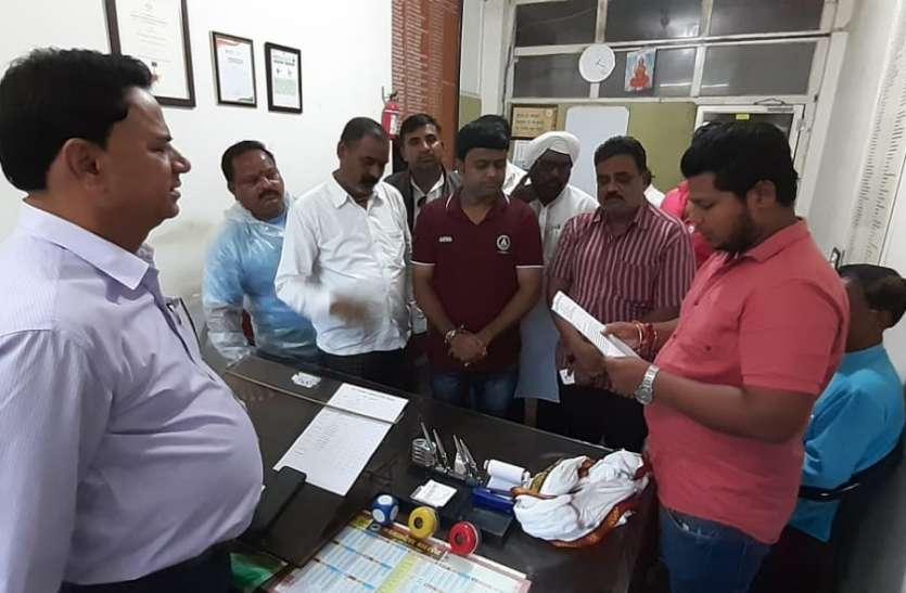 बरसाती के विवाद में नगर पालिका प्रबंधन और स्वास्थ्य समिति सभापति आमने-सामने