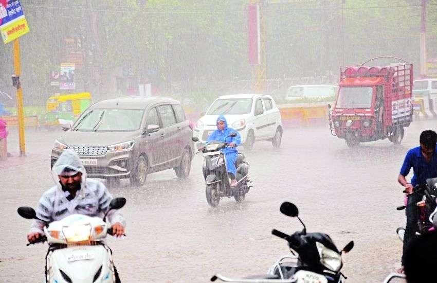 मानसून फिर मेहरबान, अब तक 31 इंच बारिश, 2018 की कुल बारिश के बराबर पहुंचा आंकड़ा