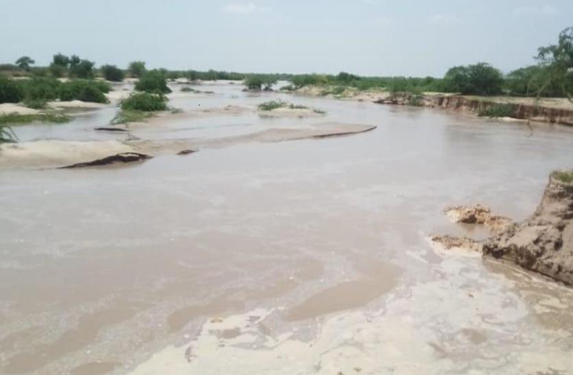 नेहड़ से पाकिस्तान पहुंचा लूनी नदी का पानी
