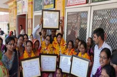 जोधपुर को मिला पोषण अभियान अवार्ड, पांच आंगनवाड़ी कार्यकर्ताओं को किया सम्मानित