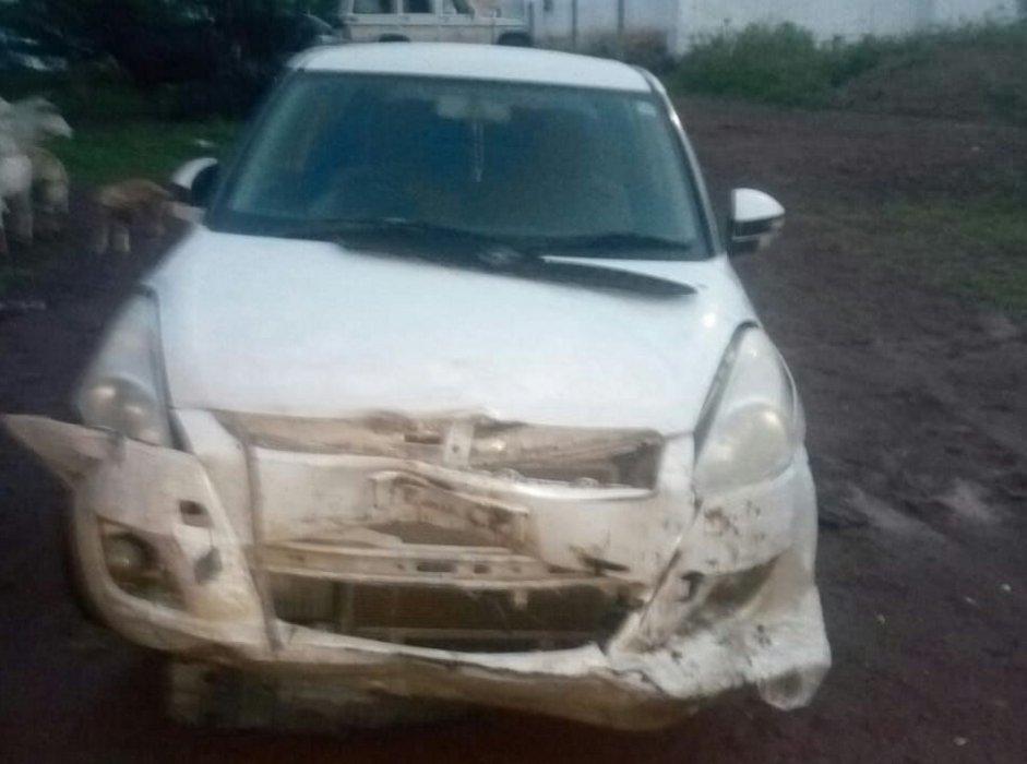 ट्रक चालक पर हमला कर बदमाशों ने रुपए व मोबाइल लूटा