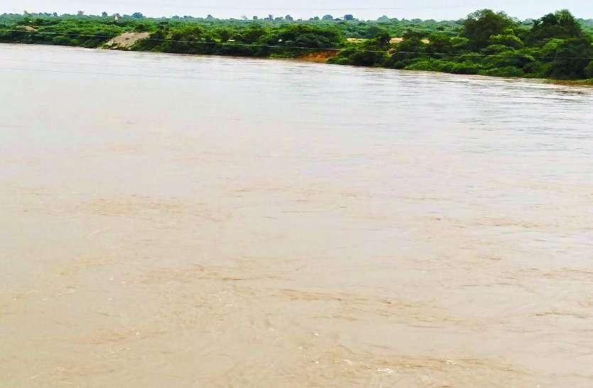सिंध में आया 80 हजार क्यूसेक पानी, आसपास के गांव में अलर्ट जारी