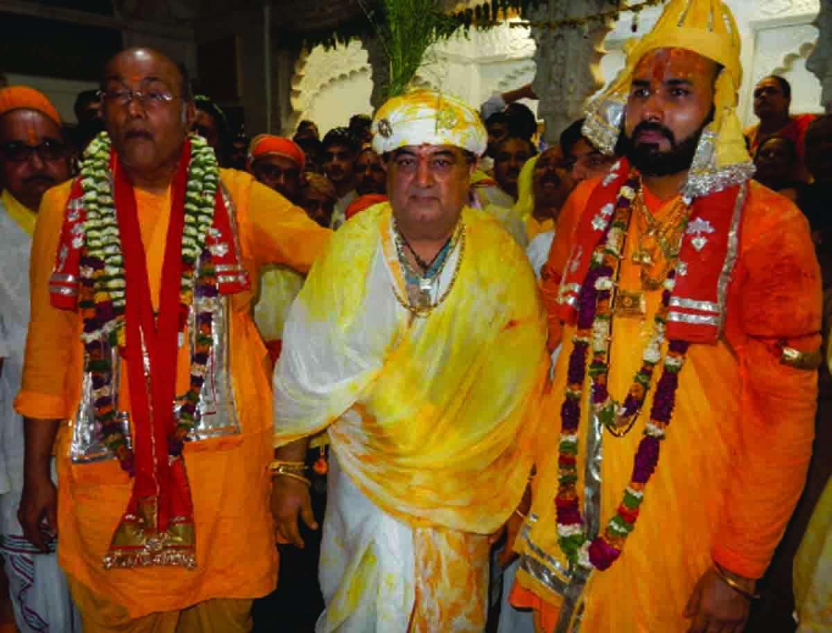 Nanda mahotsav celebrated with pomp and reverence