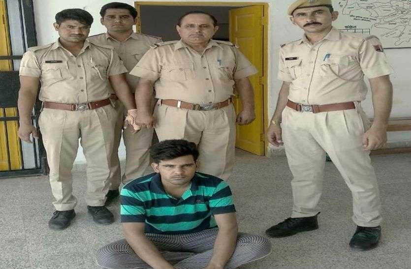 बीकानेर. लाखों रुपए के जेवर व नकदी चुराने वाले को दबोचा