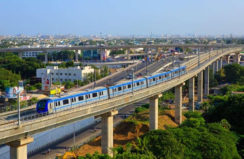 Tamilnadu : चेन्नई वासियों को भाने लगी है मेट्रो ट्रेन