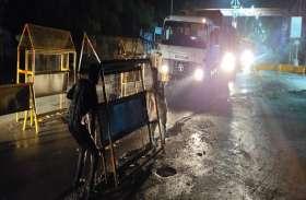 यहां की यातायात पुलिस ने बीच सड़क लगा दिया मौत का स्टॉपर, बना बड़ा खतरा