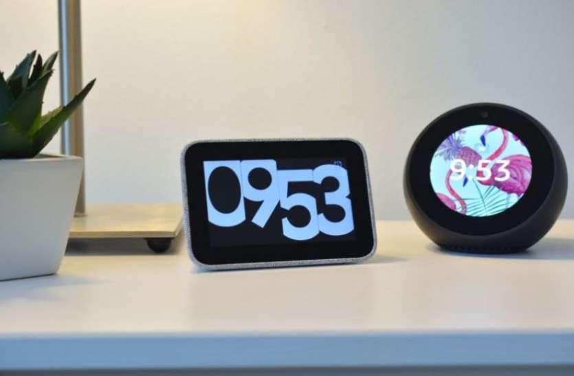 Lenovo Smart Clock और Smart Display भारत में लॉन्च, 28 अगस्त से शुरू होगी सेल