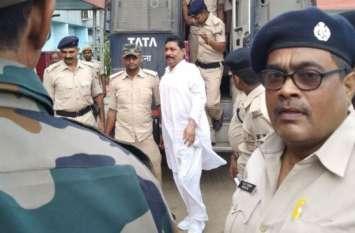 बाहुबली विधायक की बढ़ी मुश्किल, कोर्ट ने दो दिन की पुलिस रिमांड पर भेजा
