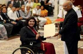 खेल दिवस पर दीपा मलिक को मिला राजीव गांधी खेल रत्न, विमल कुमार को द्रोणाचार्य अवॉर्ड