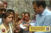पुलिस हिरासत में जान गंवाने वाले हनुमान के परिवार को प्रभारी मंत्री ने सौंपा 3 लाख का चैक