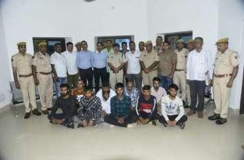 बेंगलूरु से हत्या का मुख्य आरोपी सहित पांच गिरफ्तार