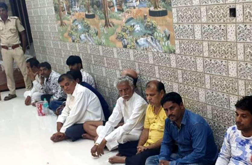 जुआ खेलते जिले के दो भाजपा नेताओं को राजस्थान पुलिस ने पकड़ा