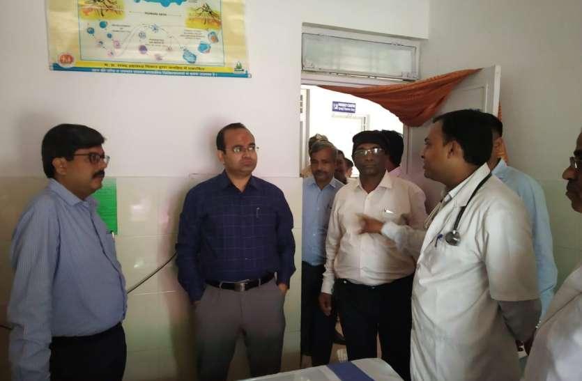 जिले के प्रभारी सचिव ने अनूपपुर व पुष्पराजगढ़ का भ्रमण कर जाना योजनाओं का क्रियान्वयन
