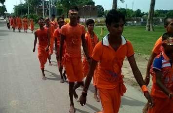 'चल रे कांवड़िया शिव के धाम' उद्घोष के साथ लाखों कांवड़िए पहुंच रहे पांडव कालीन विभूतिनाथ मंदिर