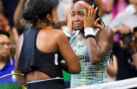 इस दिग्गज खिलाड़ी के सामने कोर्ट पर ही रोने लगी 15 साल की कोरी