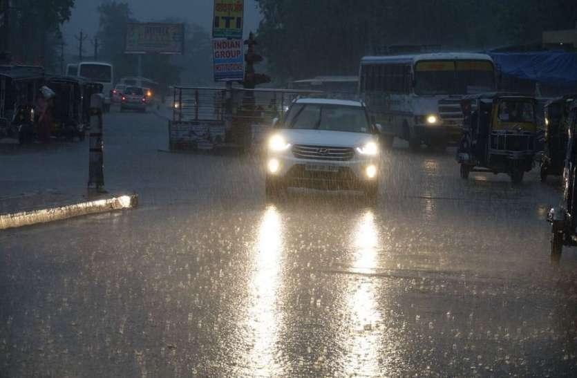 राजस्थान : फिर मेहरबान हुआ मौसम, कई जिलों में हुई मूसलाधार बारिश