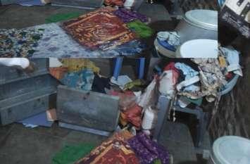 आहोर में दिन-दहाड़े तोड़े मकान के ताले, लाखों की चोरी