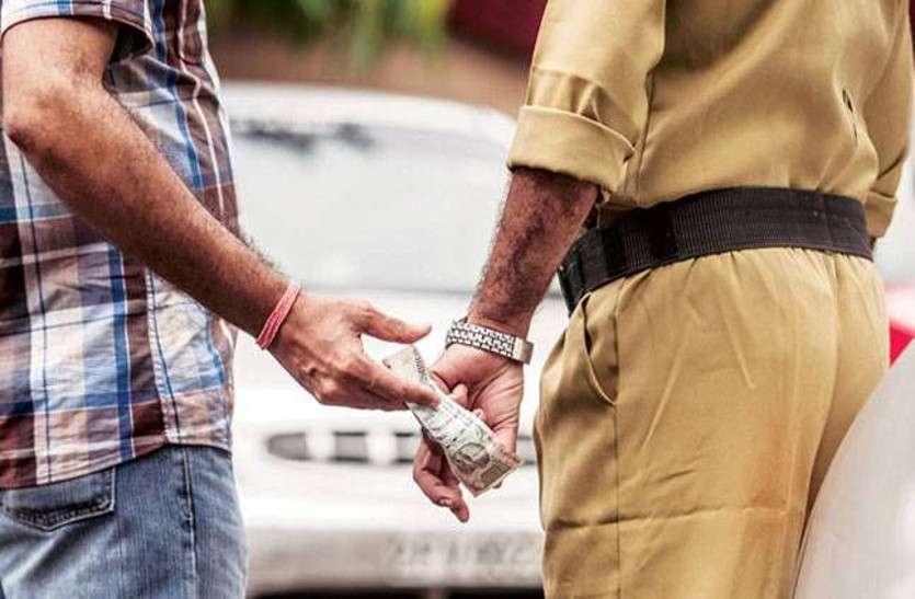 तीन पुलिसकर्मी कर रहे थे उगाही, जब वीडियो डीसीपी के पास पहुंचा तो तीनों हो गए सस्पेंड