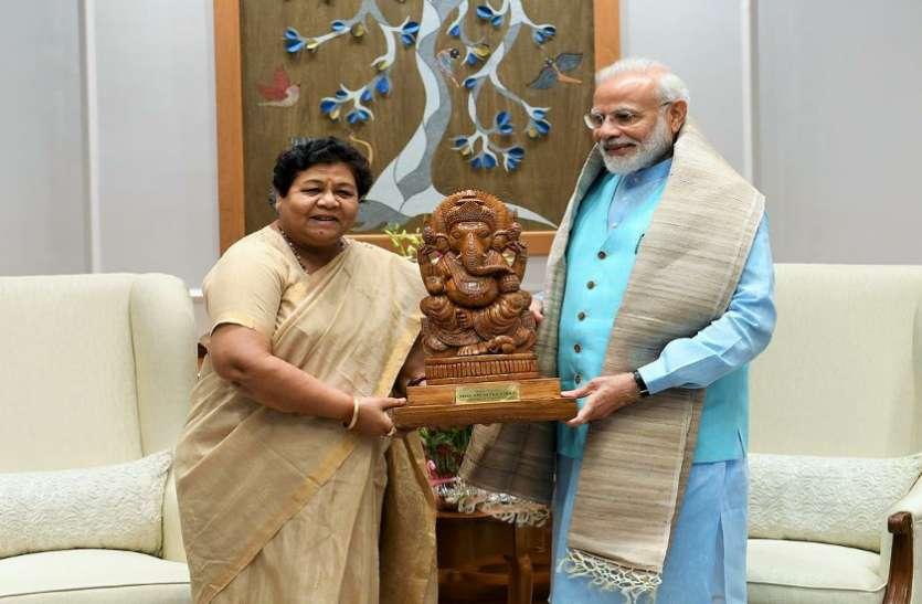 PM मोदी ने राज्यपाल उइके से की सौजन्य मुलाकात, कहा- प्रदेश के विकास के लिए सभी वर्गों को साथ लेकर करें कार्य