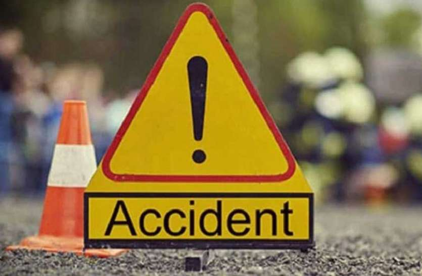 कार व बाइक की टक्कर में दो युवकों की मौत