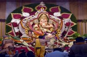 mumbai ganesotsav : 20 करोड़ के आभूषण से लक-दक जीएसबी के गणपति