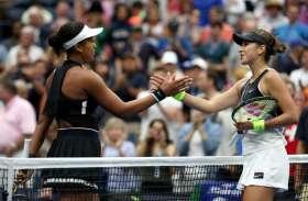 US Open : ओसाका उलटफेर की शिकार, बेनकिक ने किया बाहर, नडाल अंतिम आठ में पहुंचे
