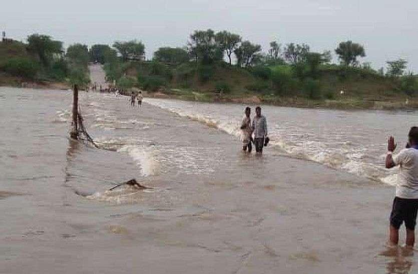 मांडल में चार, भीलवाड़ा में ढाई इंच बारिश,बिजली गिरने से प्रौढ़ की मौत