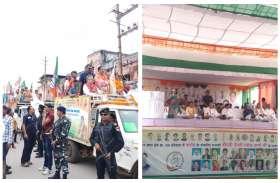 दंतेश्वरी मां का आशीर्वाद ले भाजपा और कांग्रेस प्रत्याशियों ने भरा नामांकन, भूपेश और रमन समेत दिग्गज नेता हुए शामिल