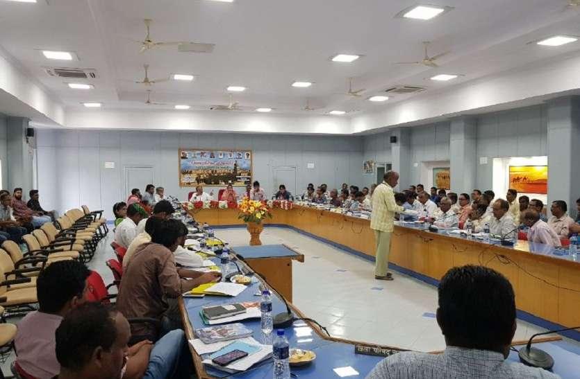जिला परिषद की स्थाई समितियों के गठन का कार्यक्रम घोषित