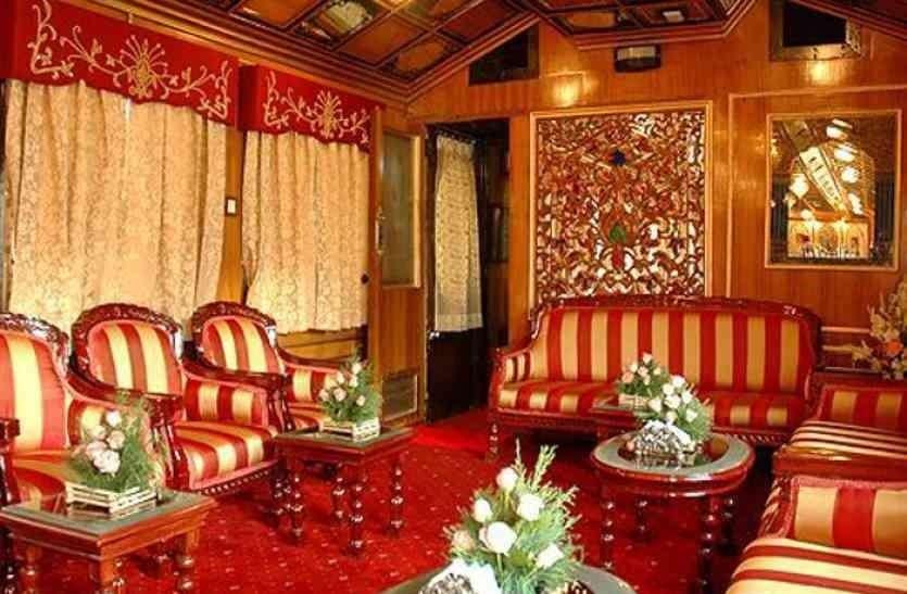 Royal Train Palace On Wheels Reaches Jaipur