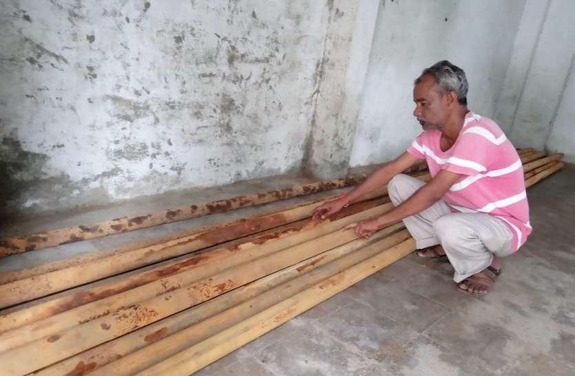 ग्राम पंचायत तलवाड़ाबुजुर्ग से गायब हुई सामग्री वापस आई