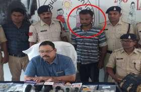 मंदिर और ज्वेलरी शॉप में चोरी करने वाला हिस्ट्रीशीटर गिरफ्तार, बाथरूम में मिला इतना सोना-चांदी