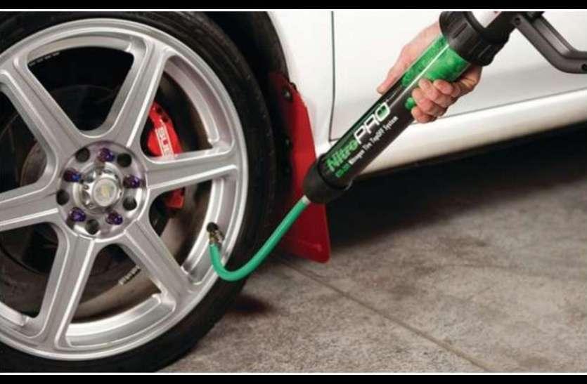 गाड़ी के माइलेज से लेकर हैंडलिंग तक पर असर डालती है टायर की नाइट्रोजन, जानें क्या हैं फायदे