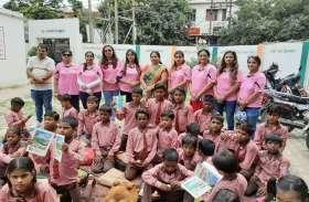 शिक्षक दिवस के अवसर पर बच्चों को मिली  पोषण की शिक्षा