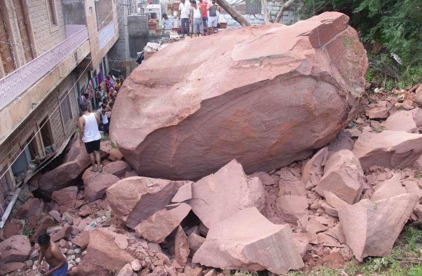 पहले बेखौफ होकर जोधपुर के पहाड़ों पर बनाए आशियाने, अब खौफ के साये में पल रही सैंकड़ों जिंदगियां