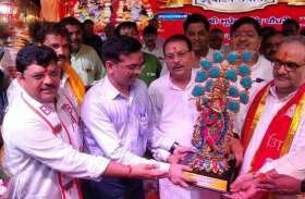 श्री दाऊजी महाराज का लक्खी मेला और कुश्ती दंगल शुरू, भूपेन्द्र चौधरी ने किया शुभारंभ, देखें वीडियो